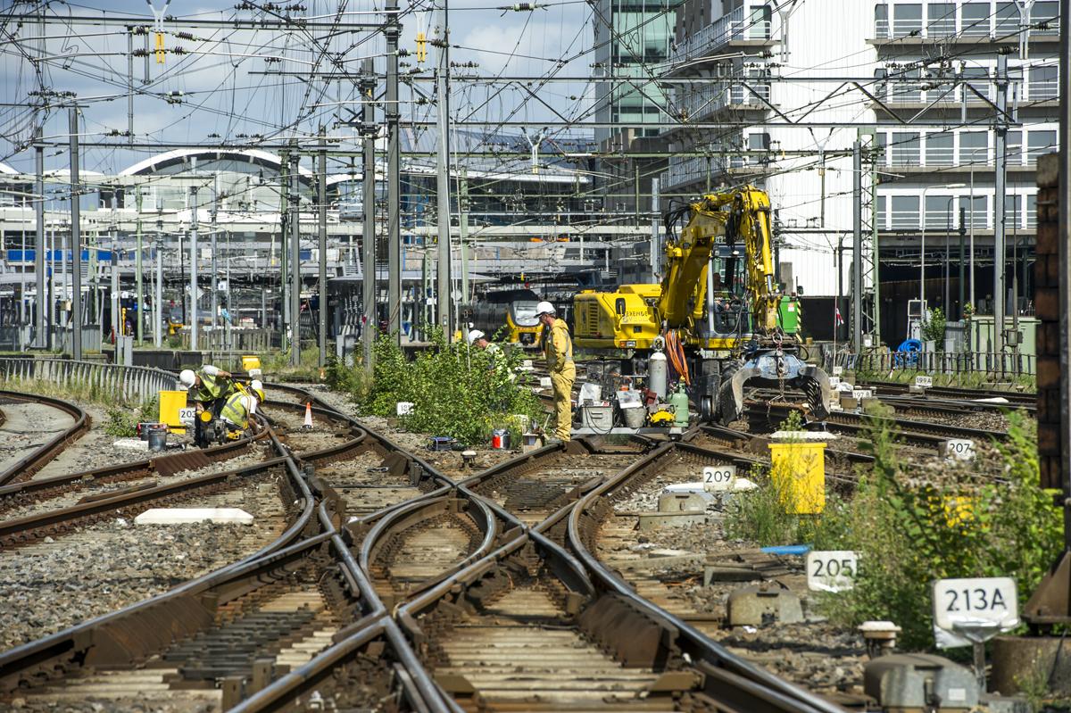 prorail spoorwegen projecten